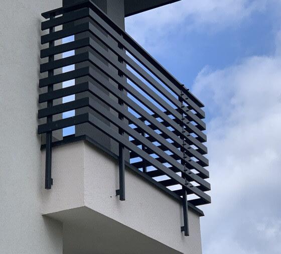 Nowoczesne balustrady na balkon