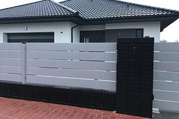 Ogrodzenia aluminioweNowoczesne ogrodzenie aluminiowe