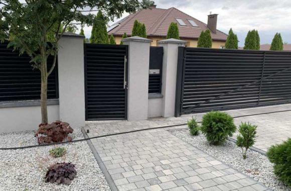 Produkujemy oraz montujemy nowoczesne bramy i furtki