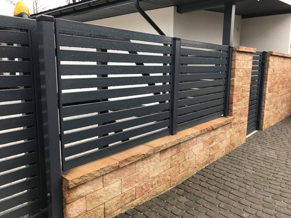 Ogrodzenie palisadowe stalowe - Płotex