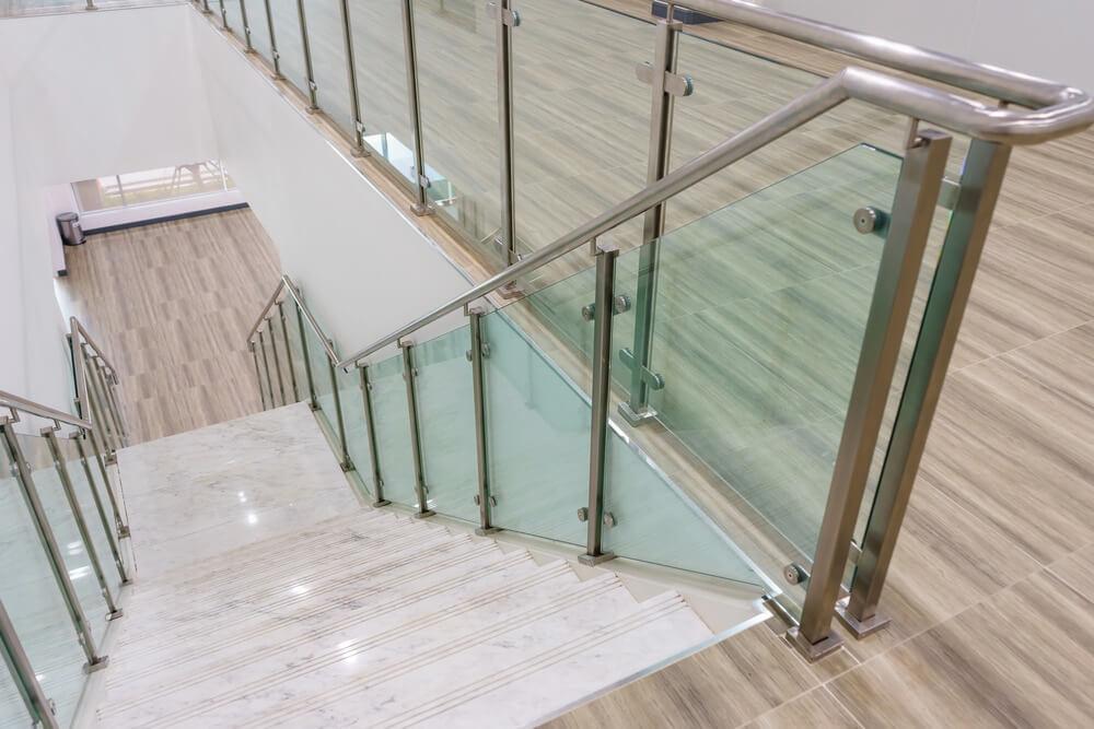 Szklana balustrada - Płotex