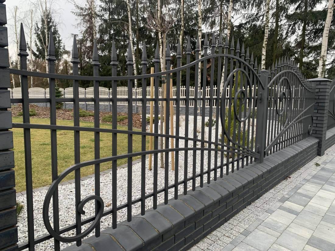 ogrodzenie kute Piaseczno