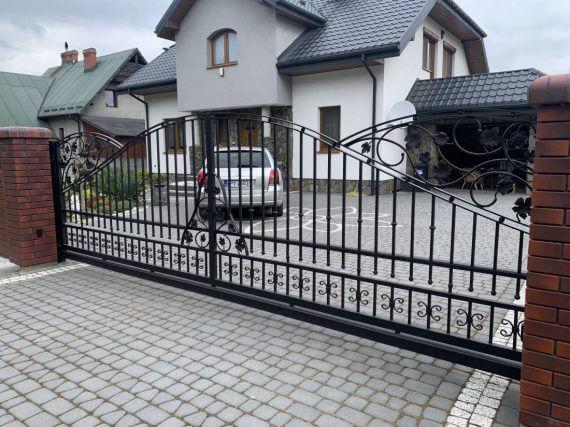 ogrodzenie kute Milanówek koło warszawy