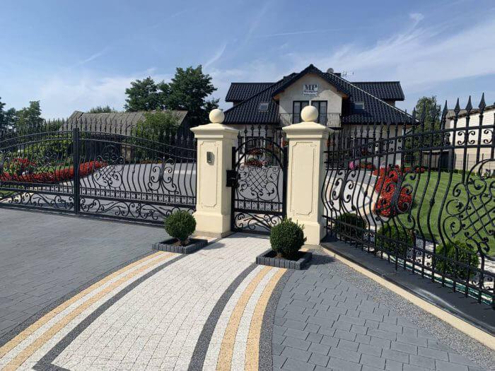 Ogrodzenie kute - Nowe Miasto nad Pilicą