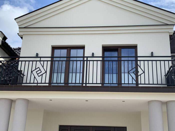 Balustrada balkonowa - Grodzisk Mazowiecki