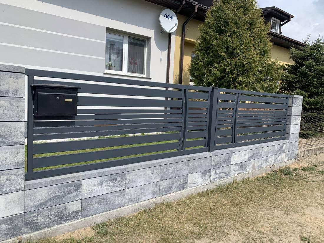 Ogrodzenia aluminiowe, nowoczesne - Ożarów Mazowiecki