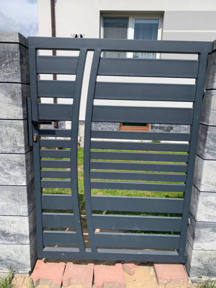 Ogrodzenia aluminiowe, nowoczesne, furtka - Ożarów Mazowiecki