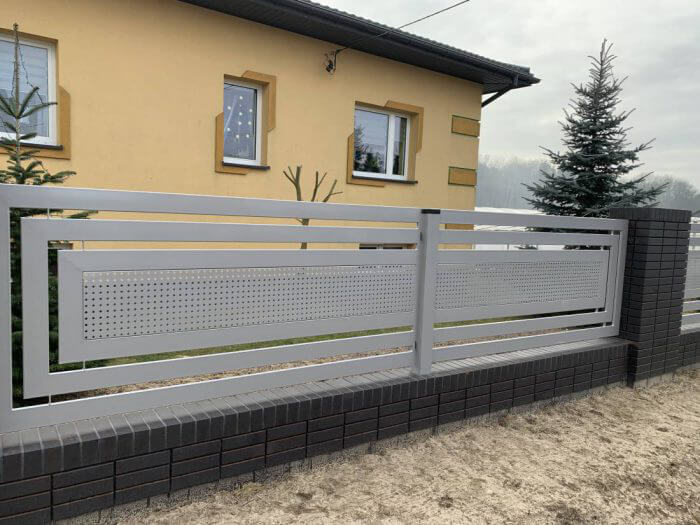Ogrodzenie aluminiowe, nowoczesne - Sochaczew