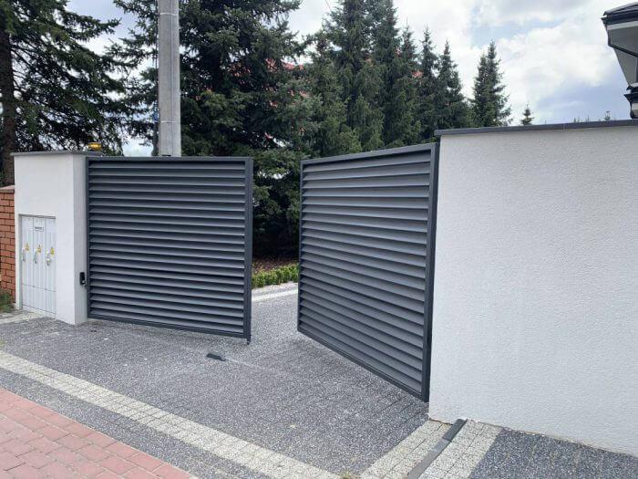 ogrodzenie żaluzjowe brama Marki koło Warszawy