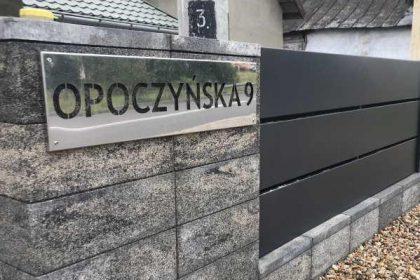 Nowoczesne ogrodzenie betonowe z bloczków - plotex.net.pl