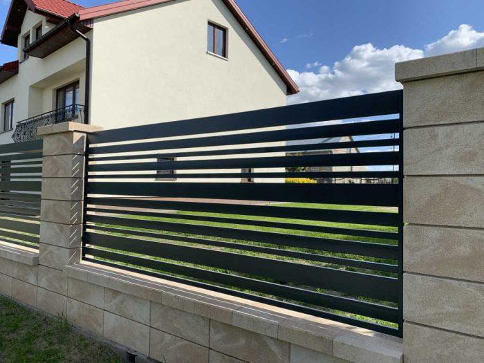 Producent ogrodzeń z kamienia łupanego w Bełchatowie - Plotex.net.pl