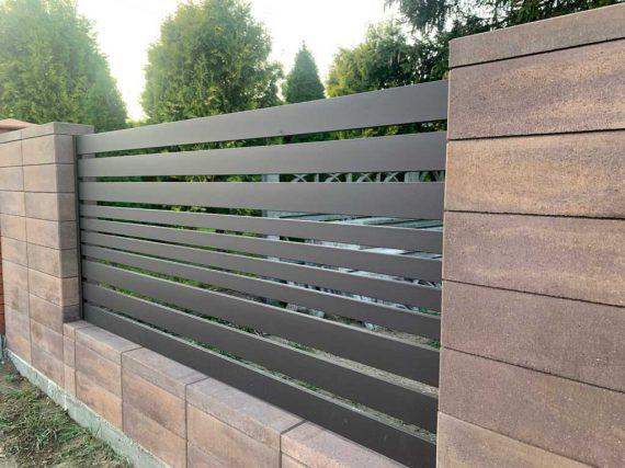 Nowoczesne ogrodzenia palisadowe w Częstochowie - Plotex.net.pl