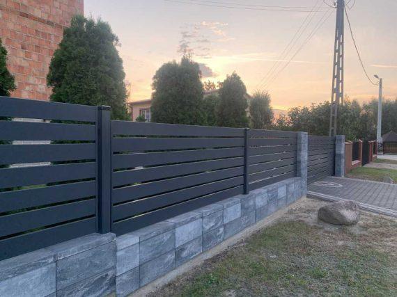 Nowoczesne ogrodzenia palisadowe Otwock - Plotex.net.pl