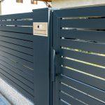 Nowoczesne ogrodzenie panelowe